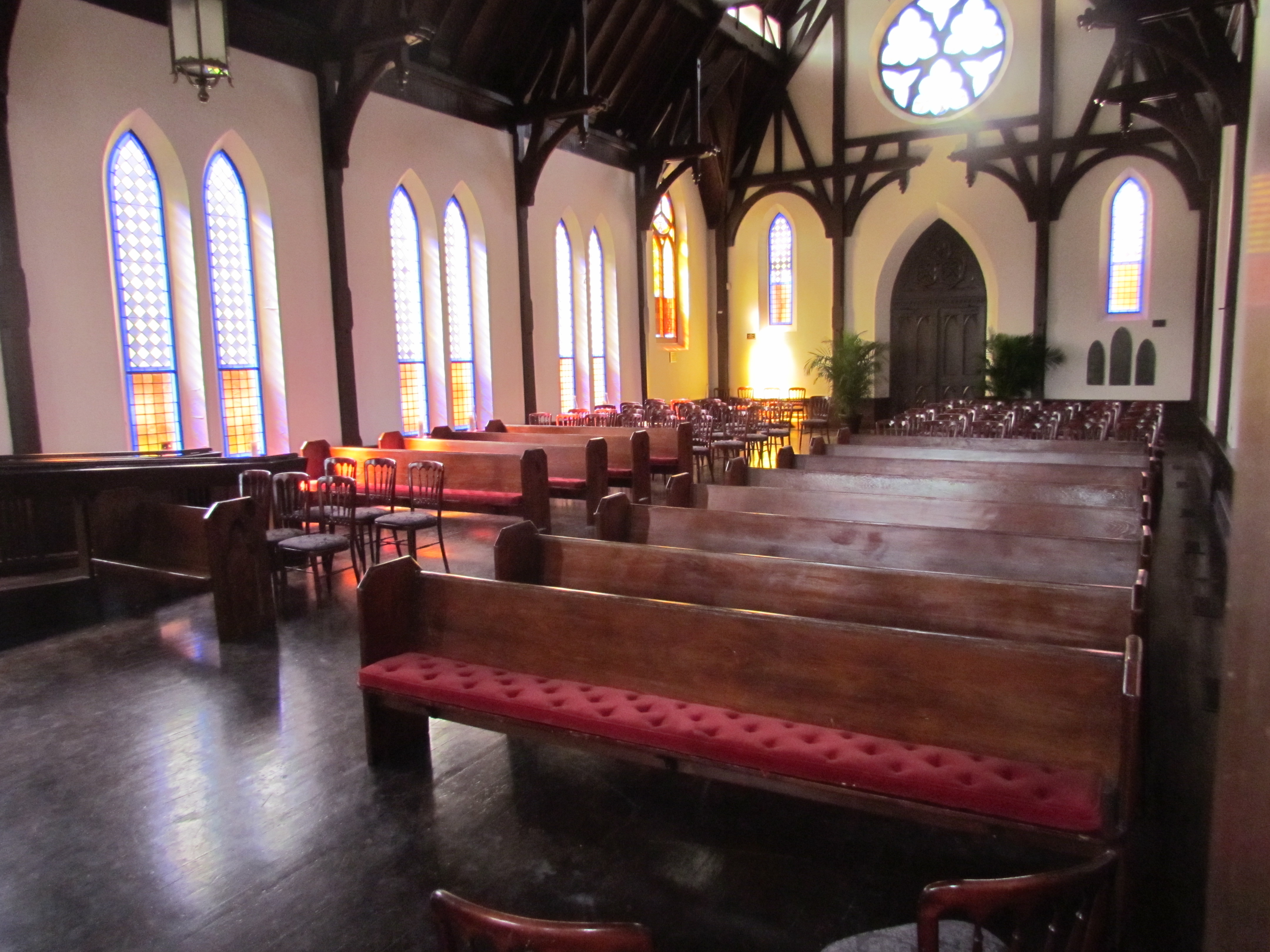 The Church, Built In 1888, Features Wonderful Interior Details And  Sparkling Stained Glass Windows