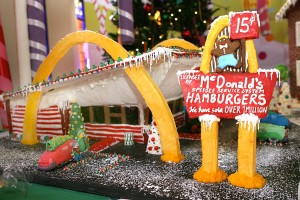 Gingerbread McDonald's