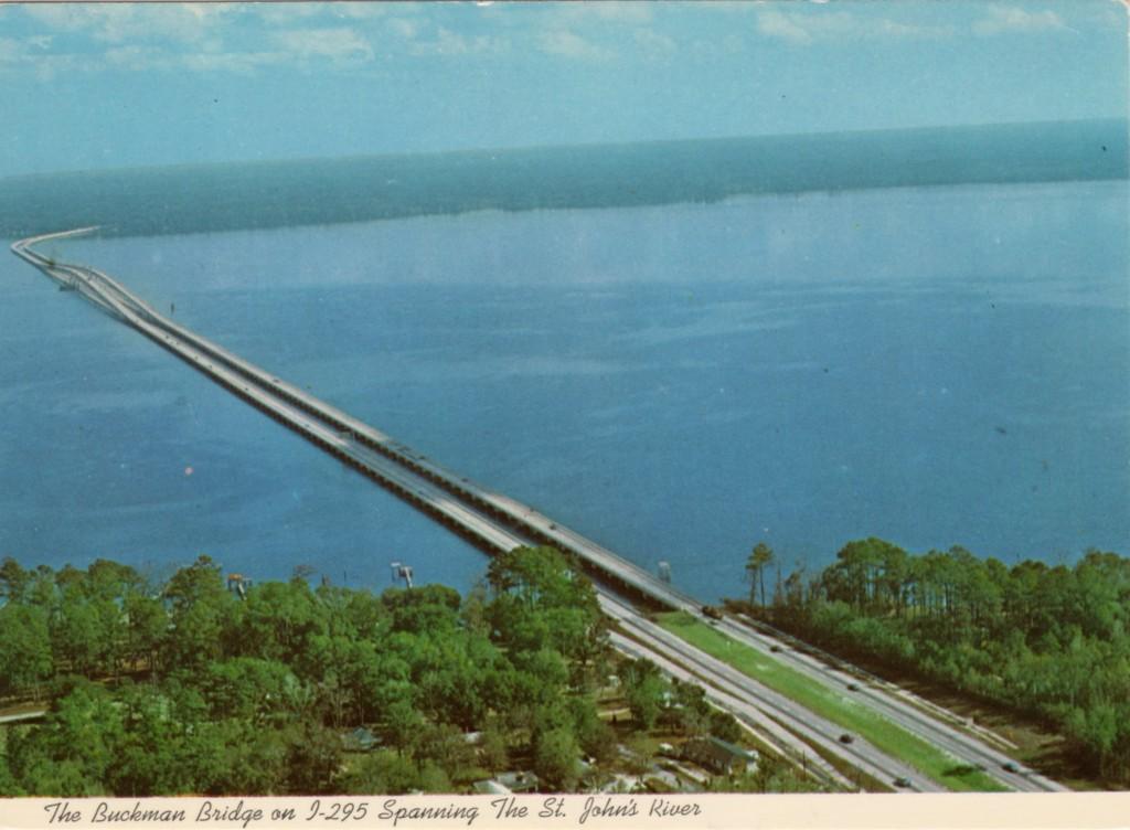 Buckman Bridge Postcard